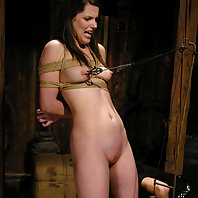 Bobbi Starr endures intense electrical predicament bondage