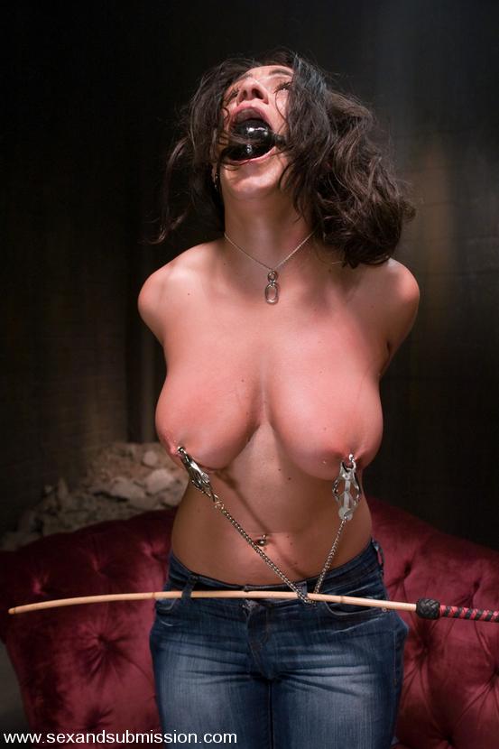 Busty bdsm lover babe got her hardcore punishment