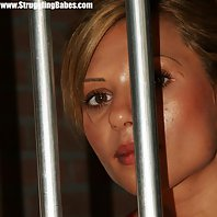Cory bound and ballgagged in jail