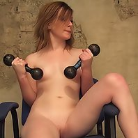 Bossy trainer humiliates and teases her trainee