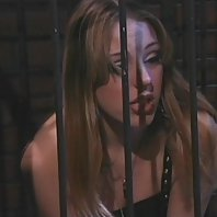 Mistress Nicole Sheridans takes charge and imprisons her slave Felix Vicious in this BDSM lezdom liv