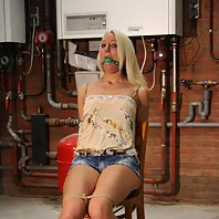 Valeri chair-tied xtreme tight ballgagged