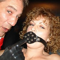 Sadie Getting Gagged and Shocked Senseless by Dr Sparky