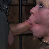 PD wanted his cock sucked and he wanted it done well, so when Elise Graves manages to botch the job