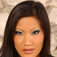 Hot Asian chick giving a stud a thorough whipping