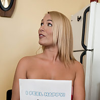 Mellanie gets fucked and punished in roleplay lesbian BDSM.