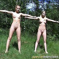 Two young gymnasts compelled to get stripped