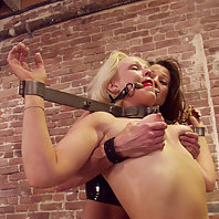 Emerald is back for more hard punishment by Kym Wilde.