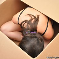 Tied Virgins Saphire is a special bondage delivery