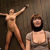 Dana DeArmond & Nika Noire in hardcore BDSM