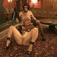 House slaves service the Upper Floor Masters and Mistresses