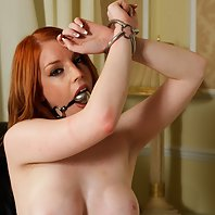 Fi Stevens and the globe cuffs