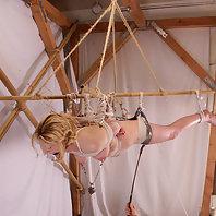 Creative bondage tricks at home.