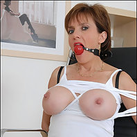 Lady sonia bound and gagged