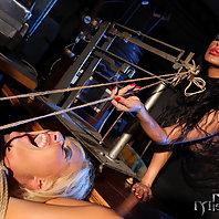 Mistress Mandy is strict playing a school teacher