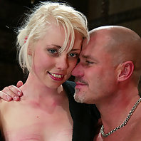 Lorelei Lee exhibits bondage and deep anal penetration.