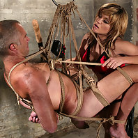 Mistress Tyla is back to punish her very disobedient slave