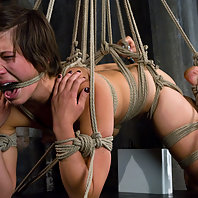 Amateur gets tied up and shocked for the first time