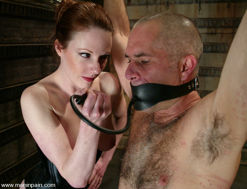 Lady lydia mclane, rick hunt in cock torture for bound pain slave, hd