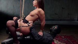 Abella danger hardcore anal bondage