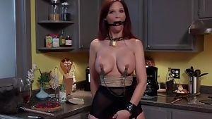 Redhead milf bdsm slave training