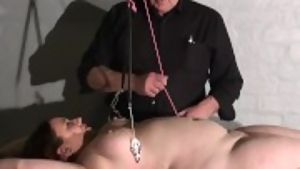 Bbw bdsm slave nimues tit torments and fierce whipping of crying amateur ma