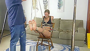 chair tied & gagged