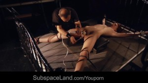 Teen sub girl humiliation bdsm training is fucked ball-gagged